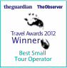 Guardian Travel Awards Winner 2012