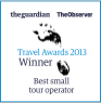 Guardian Travel Awards Winner 2013