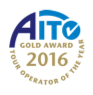 AITO Tour Operator of The Year 2016 - Gold Award