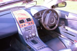 Aston Martin Inside with treatment