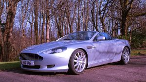 On The Road in an Aston Martin