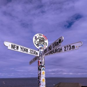 John o' Groats signpost, Caithness