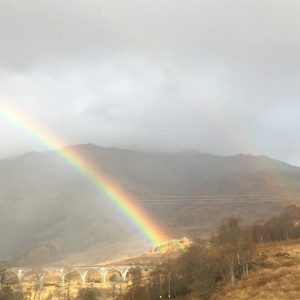 Viaduct rainbow - Daniela