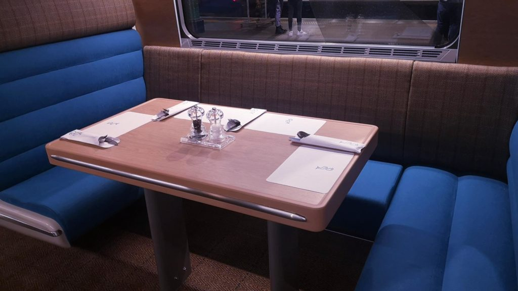 The Club Lounge, Caledonian Sleeper