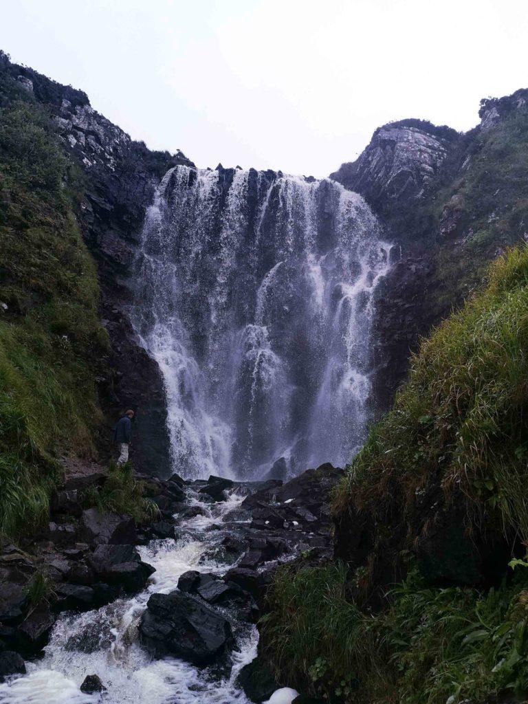 Clashnessie Falls, Lairg, North Coast 500