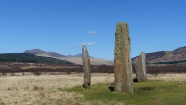 Standing Stones at Machrie