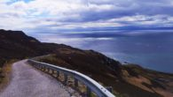 Road leading to Mull of Kintyre