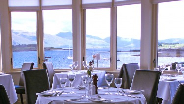 Enjoy award-winning seafood at your Loch Linnhe hotel
