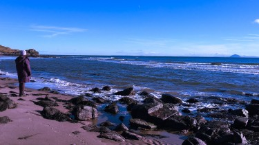You'll have the beaches in Kintyre to yourself