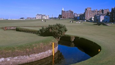 St Andrews - the home of golf