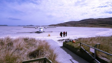 Land on the sand on Barra