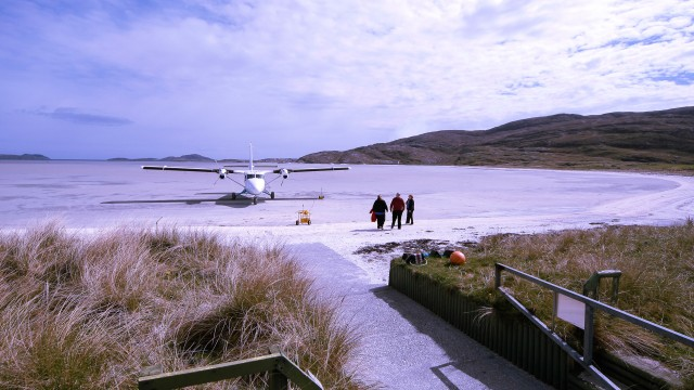 Land on the sand on Barra
