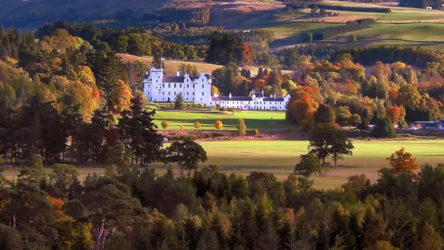 Blair Castle near Pitlochry