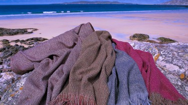 Buy some authentic Harris Tweed whilst in the Outer Hebrides