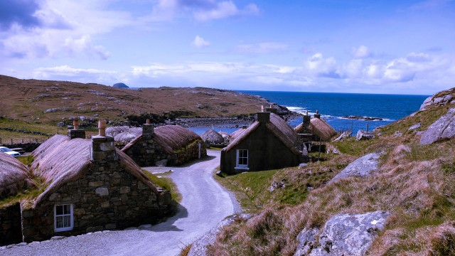 Gearrannan blackhouse village on Lewis