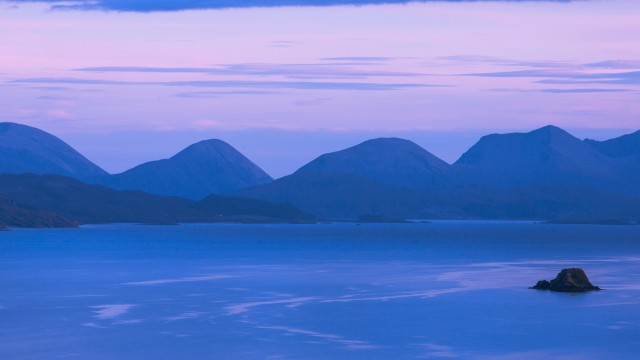 Cuillin mountains on Skye