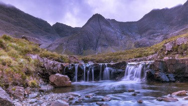 The Fairy Pools on the Isle of Skye