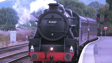 The famous Jacobite Steam Train