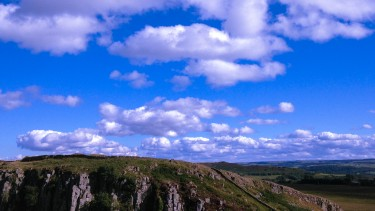 Hadrian's Wall views
