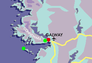 Map Car Free Aran Islands