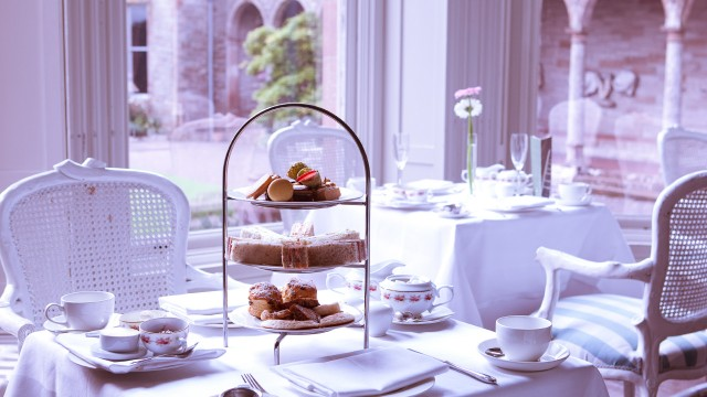 Indulge in a spot of afternoon tea!