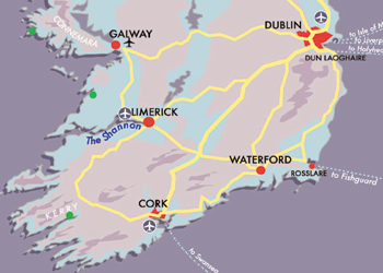 Map Dublin-and-Southern-highs