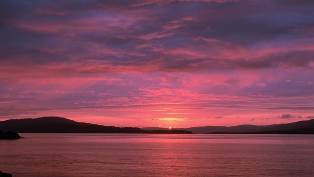 Sunset from Mull