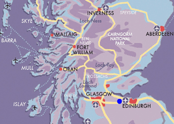 Map Edinburgh