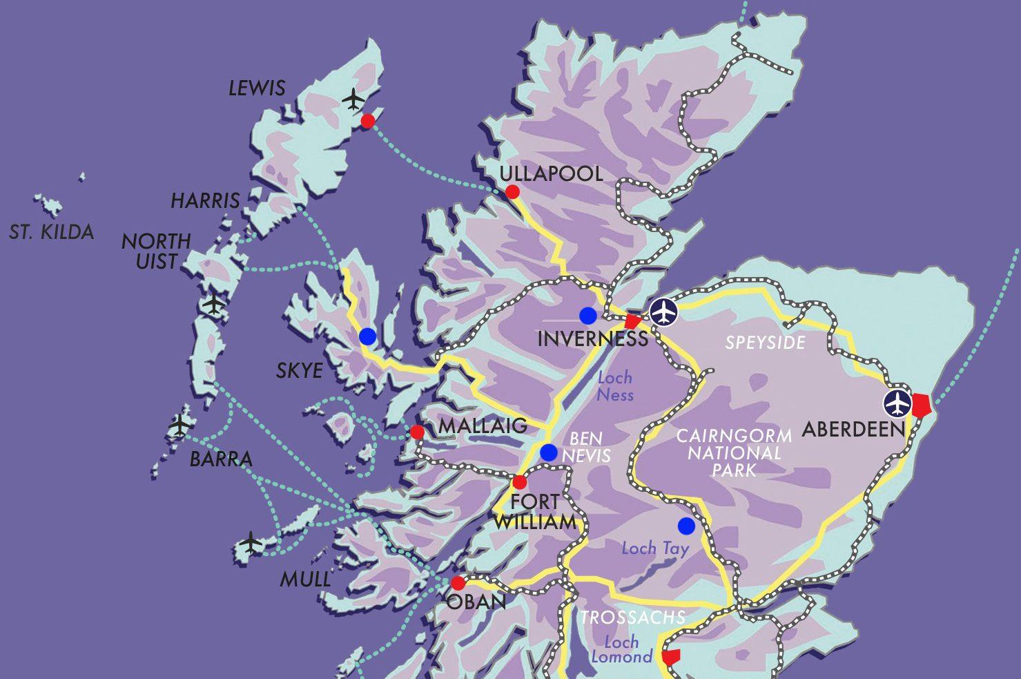 Explore Scotland by Train