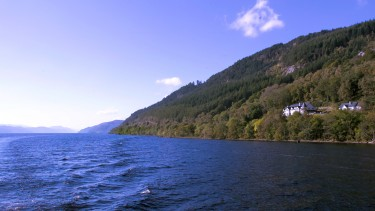 Views over Loch Ness