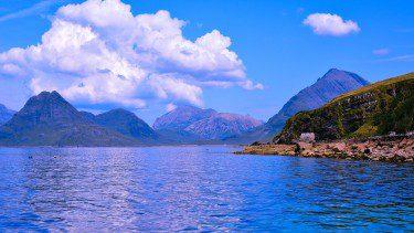 Loch Scavaig on Skye