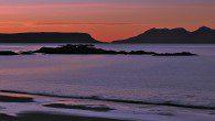 Eigg sunset, the Small Isles