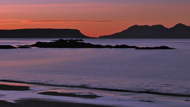Eigg sunset, the Small Isles