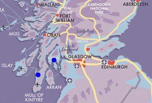Map Mull-of-Kintyre-Explorer