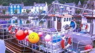 Tobermory Harbour is colourful to say the least!