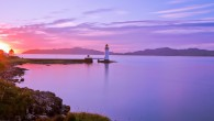 Lighthouse in Tobermory, Mull