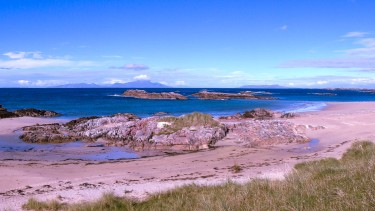 One of Coll's secluded beaches