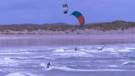 Kitesurfing on Tiree