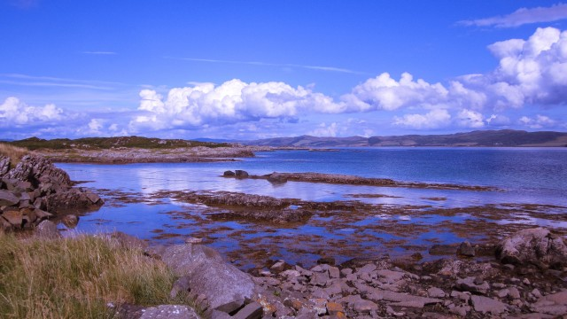 Views across Gigha