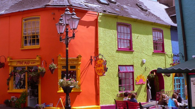 Kinsale's colourful streets