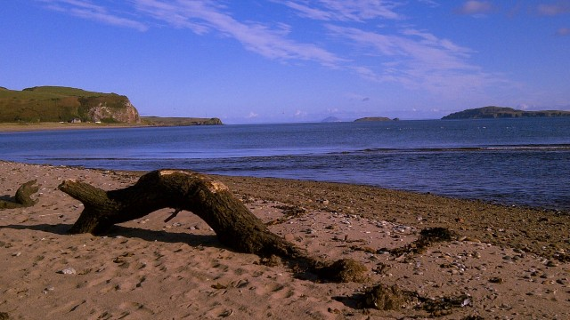 Carskiey beach, Kintyre