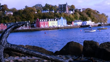 Tobermory is a lively harbour village