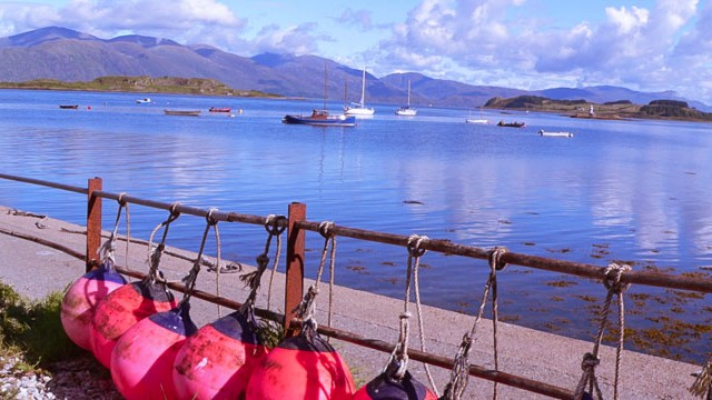 Port Appin on the Argyll Coast