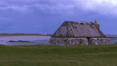 Thatched cottage on Tiree