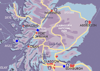 Map Scottish Family Experience