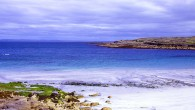 Secluded Aran Island's beach