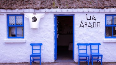 Charming craft shop on Inishmore