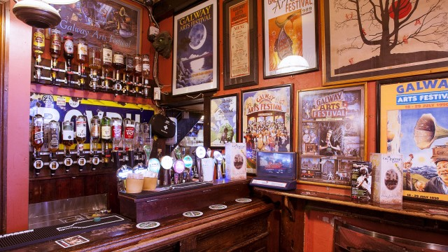 There are plenty of lively bars in Galway