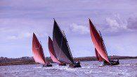 Racing Galway Hooker boats