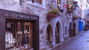 Galway has many pretty medieval streets to explore....